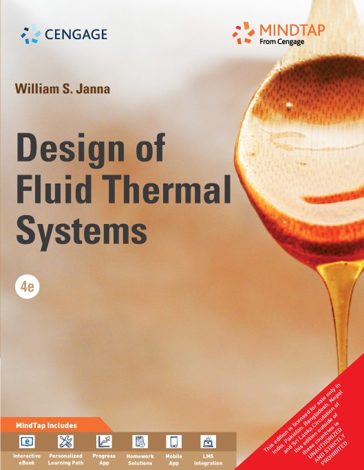 Fluid thermal systems design of fluid thermal systems with mindtap william s janna fandeluxe Gallery