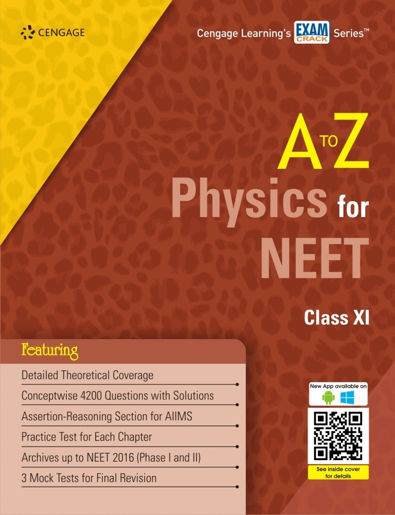 A To Z Physics For Neet Class Xi